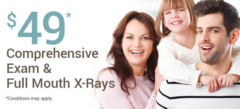 $49 exam and xray special