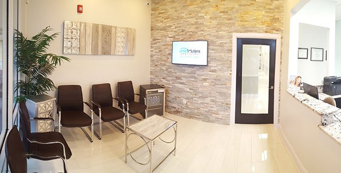 Smile Solutions Dentistry waiting room